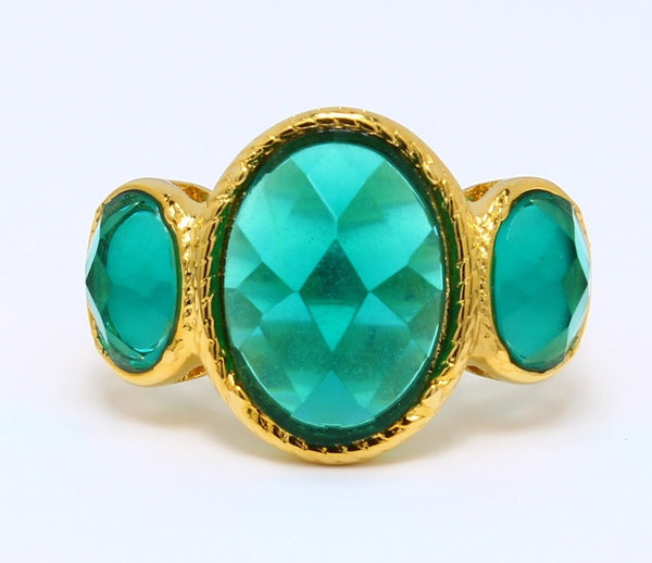 3-stone-cubic-zirconia-london-blue-topaz-ring-oval-cut-14k-yellow-gold-plated