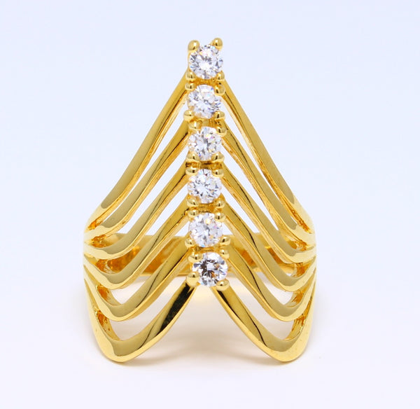 cubic-zirconia-index-finger-ring-ribbed-14k-yellow-gold-plated