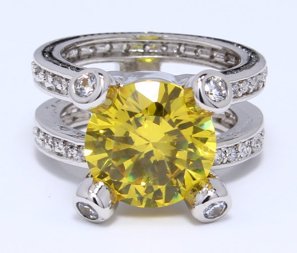 citrine-cubic-zirconia-ring-round-cut-birthstone-platinum-plated