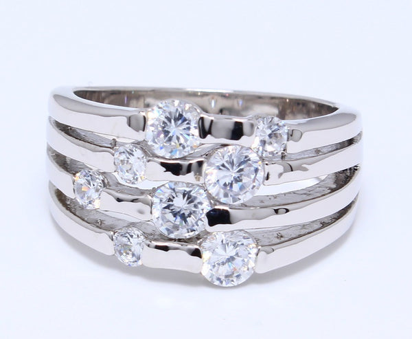 bezel-set-cz-ring-wire-rhodium-plating-over-brass