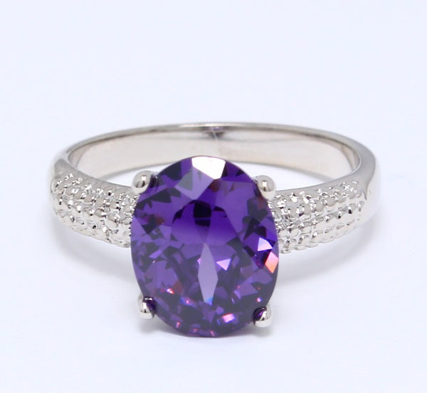 purple-amethyst-cubic-zirconia-ring-oval-cut-platinum-plated-solitaire-birthstone