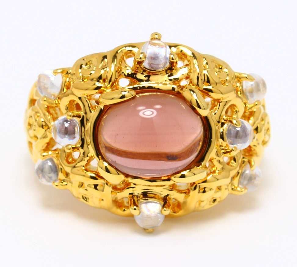 cabochon-ruby-cubic-zirconia-ring-14k-yellow-gold-plated-nugget