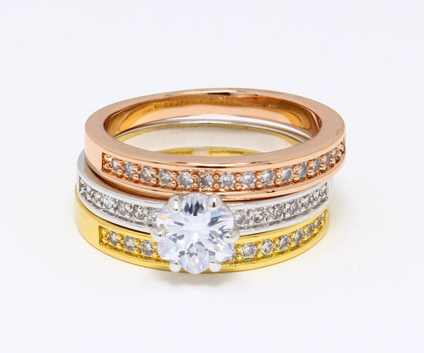 Beautiful-Tri-Color-Engagement-Ring-and-Wedding-Band-Set