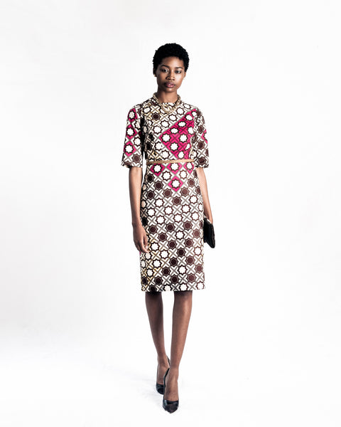 Boss Lady Wax Print Dress