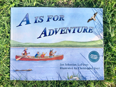 A is For Adventure Book