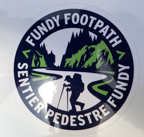 Fundy Footpath Sticker / autocollent Sentier Pedestre Fundy