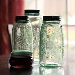 Mason, Hoosier, & Seller Jars