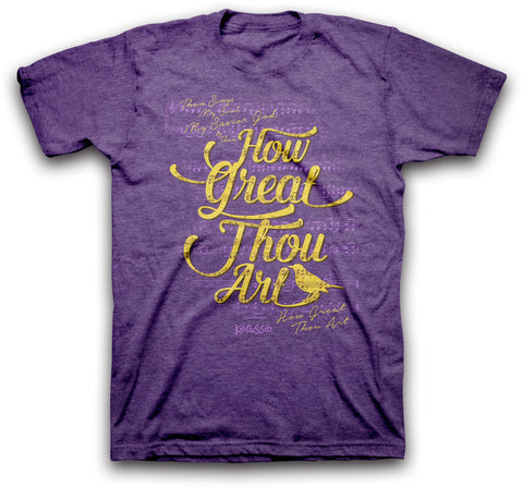 Adult T - How Great Thou Art