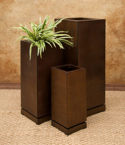 CKI Tall 5th Avenue Planters - Set of 3