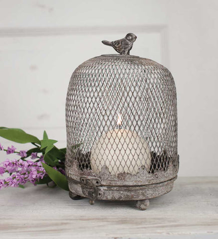 CTW Cloche Birdcage Candle Holder
