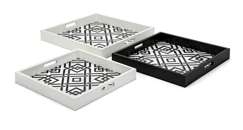 Concepts Eclipse Decorative Trays - Set of 3