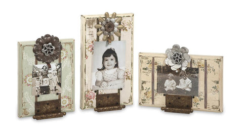 Ella Elaine Door Hinge Photo Frames - Set of 3