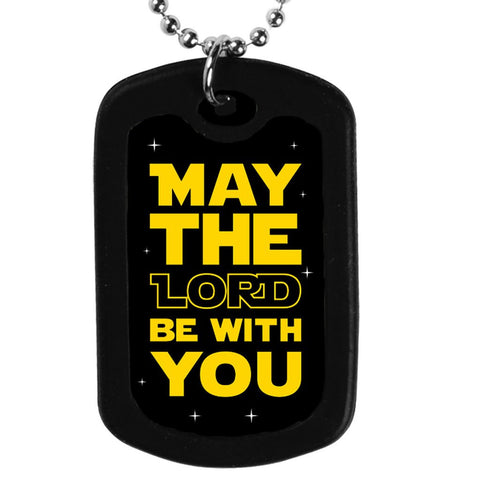 Faith Tag Necklace - May The Lord