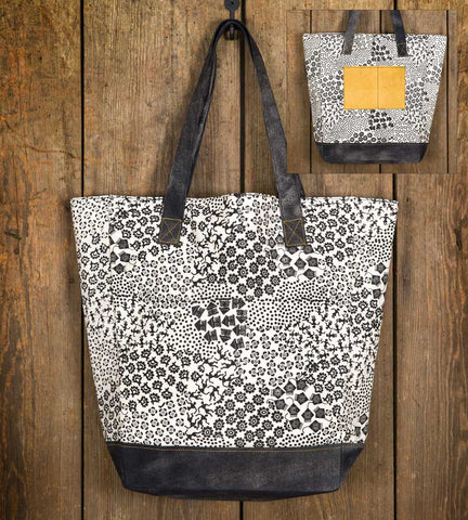 CTW Mesa Black and White Market Bag