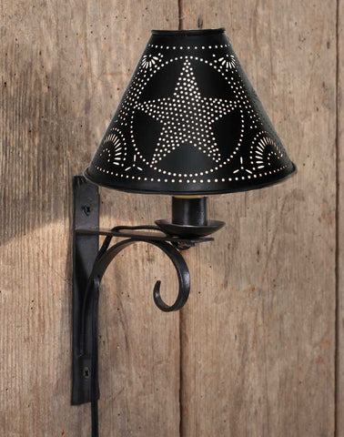 CTW North Fork Wall Lamp with Star Shade - Set of 2