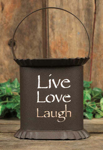 CTW Oval Wax Warmer - Live Laugh Love