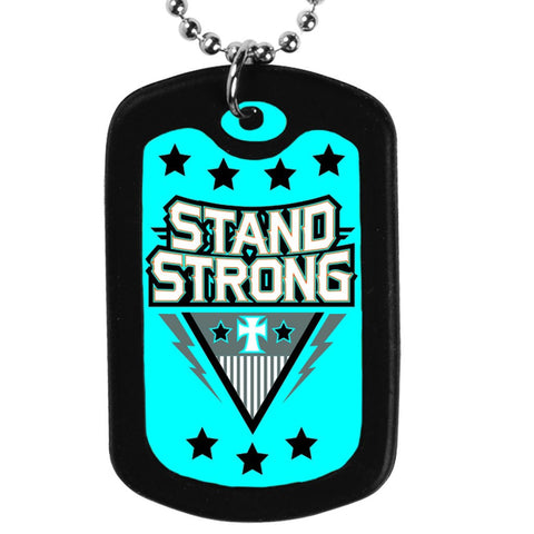 Faith Tag Necklace - Stand Strong