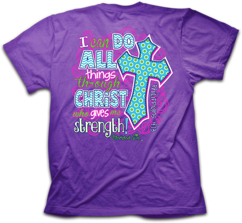 Cherished Girl Adult T - All Things