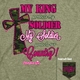 Cherished Girl T - My Soldier