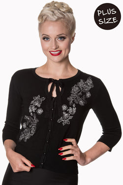 Dancing Days Banned Delilah Cardigan Plus 2XL - 4XL