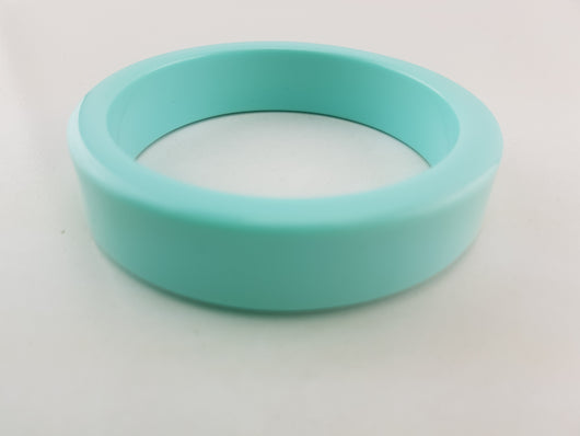 Chunky Bangle - Pale Blue