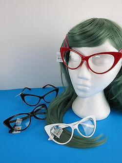 Cat Eye Clear Lens Glasses - Loretta