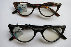Cat Eye Clear Lens Glasses - Fiona