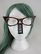 Cat Eye Clear Lens Glasses Pointed