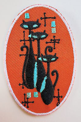 Atomic Cat Iron On Patch