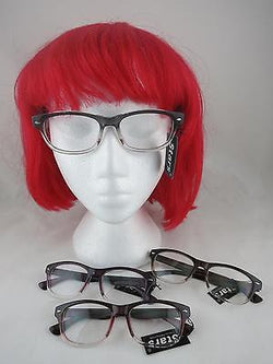 Cat Eye Clear Lens Glasses Wayfarer