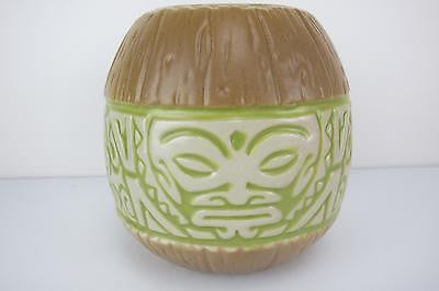 Marqo-Coco Coconut Mug Tiki Farm Rockabilly Kustom Kulture 50s Hawaii Green