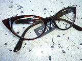 Cat Eye Clear Lens Glasses - Small
