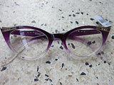 Cat Eye Clear Lens Glasses - Francie