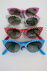 Polka Dot Cat Eye Sunglasses - Marian