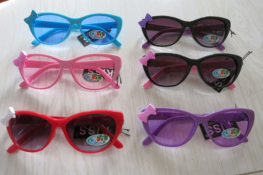 Kids Girls Cat Eye Sunglasses