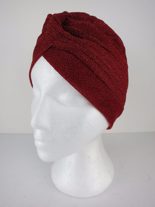 Lurex Turban - 10 colours