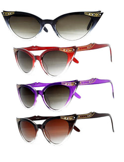 Cat Eye Sunglasses - Frances
