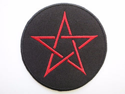 Pentagram Patch Iron On