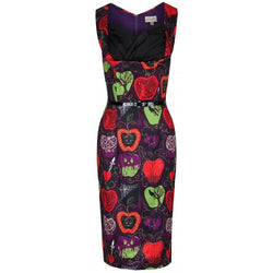 Lindy Bop Vanessa Dress Bad Apple Size 10