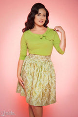 Heart of Haute Lime Green Lily Top XS-3XL
