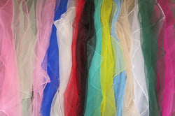 Japanese Nylon Scarf Hair Sheer 40s 50s