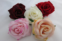 Rose Hair Clip & Brooch - Large