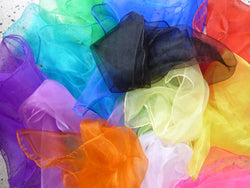 Chiffon Scarf Hair Scarves - 20 colours