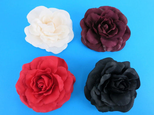 Hair Rose Brooch