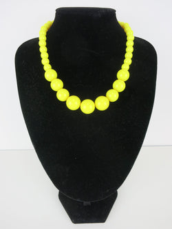 Counter Culture Gumball Necklace - Grande Yellow