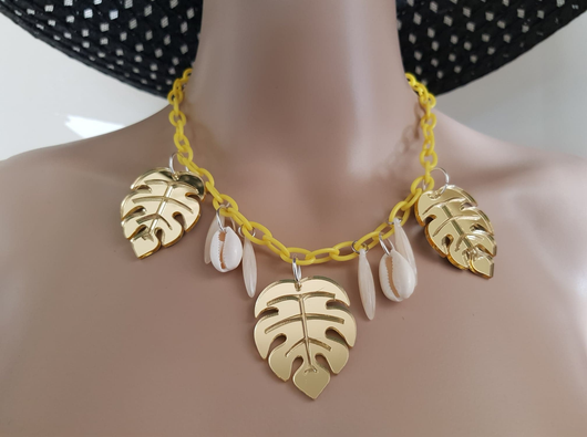 Summer Gold Necklace
