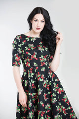 Hell Bunny Cherie Dress - X-Small to 2X-Large