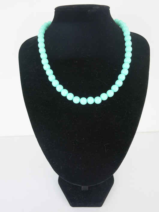 Counter Culture Republic 'Lauren' Bead Necklace in Mint