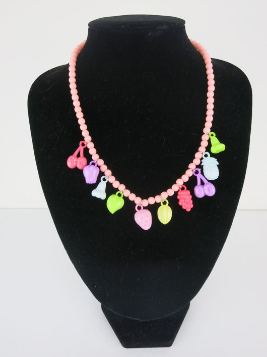 Pastel Fruit Salad Necklace