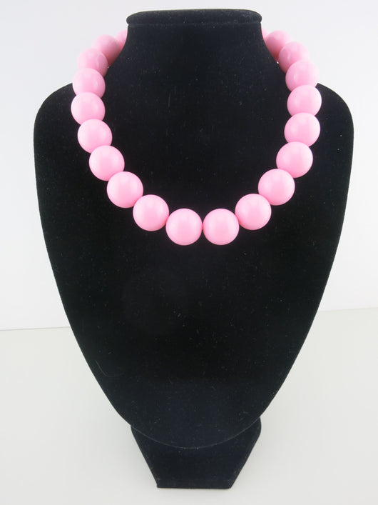 Counter Culture Republic - Chunky Pastel Pink Necklace